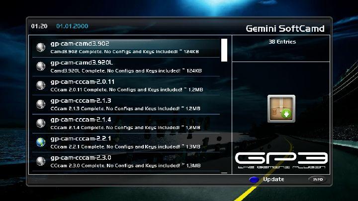 gp3 cam feed